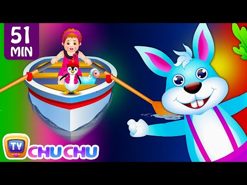 Row Row Row Your Boat Nursery Rhyme and Many More Lullaby Nursery Rhymes & Kids Songs by ChuChu TV