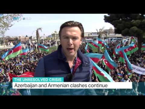 Azerbaijan and Armenian clashes continue, Ediz Tiyansan reports from Ganja