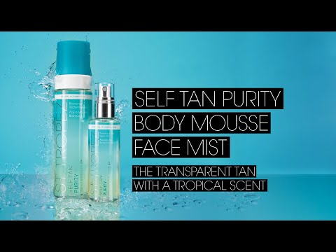 How To Apply Self Tan Purity Bronzing Water Mousse & Face Mist
