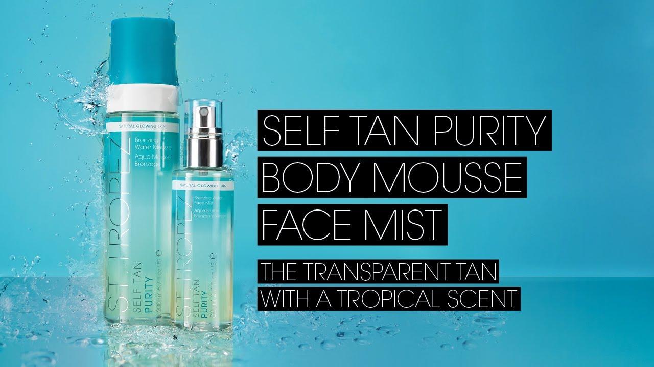 st tropez self tan bronzing face