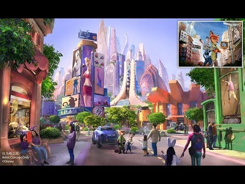 Shanghai Disneyland to build world's first Zootopia-themed land - Daily News