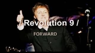 Paul McCartney is dead - songs backwards