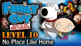 Family Guy: Back To The Multiverse Walkthrough - Ending / Final Mission 10 - No Place Like Home