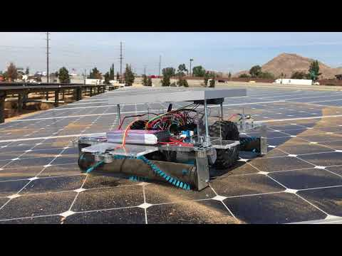 UCR Student-Designed Solar Panel Cleaning Robot (2)