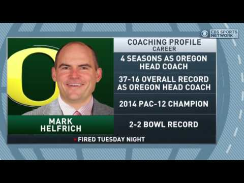 Gottlieb: Oregon fires Mark Helfrich