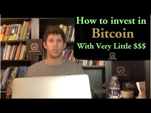 How To Invest In Bitcoin With Very Little $$$