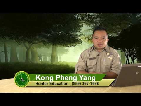 Kong Pheng Yang Hunter Education June 13, 2016