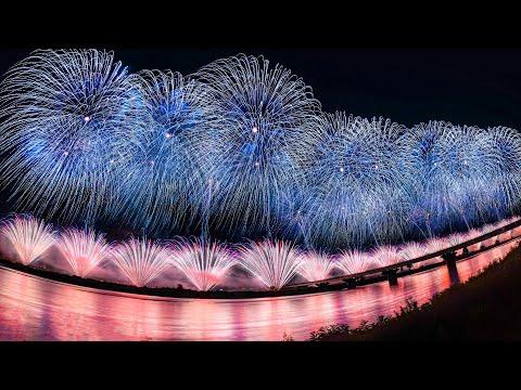 [4K] 長岡花火大会 2019 復興祈願花火 フェニックス 15周年特別版 - Nagaoka Fireworks Phoenix 2019 -  (shot on Samsung NX1)