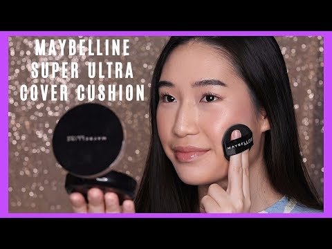 *NEW* MAYBELLINE Super Ultra Cover Cushion Review || Tricia Young