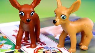 Przyjaciele na Safari #21 • Disney • Antylopy Flynn i Flora • Encyklopedia zwierząt z zabawkami