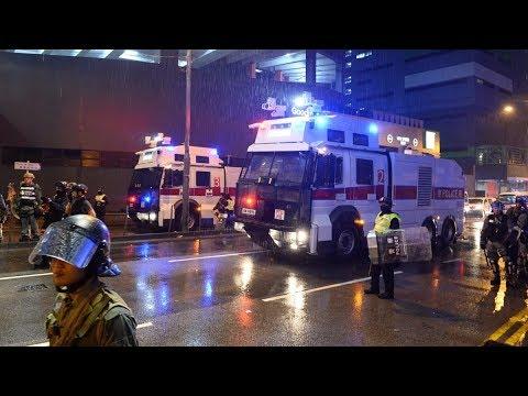 【直播中】8.25荃葵青集會遊行 示威者從荃灣轉往深水埗 警方清場