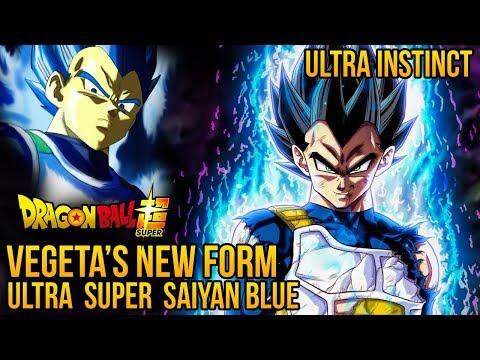 Vegeta's New Form! Ultra Super Saiyan Blue? Ultra Instinct? In Dragon Ball Super Tournament Of Power
