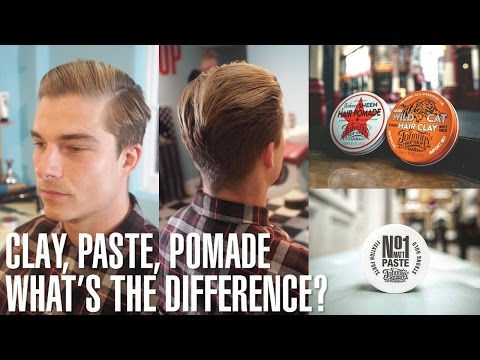 Johnny's guide to Hair Clay, Matt Paste and Pomade – what's the difference?
