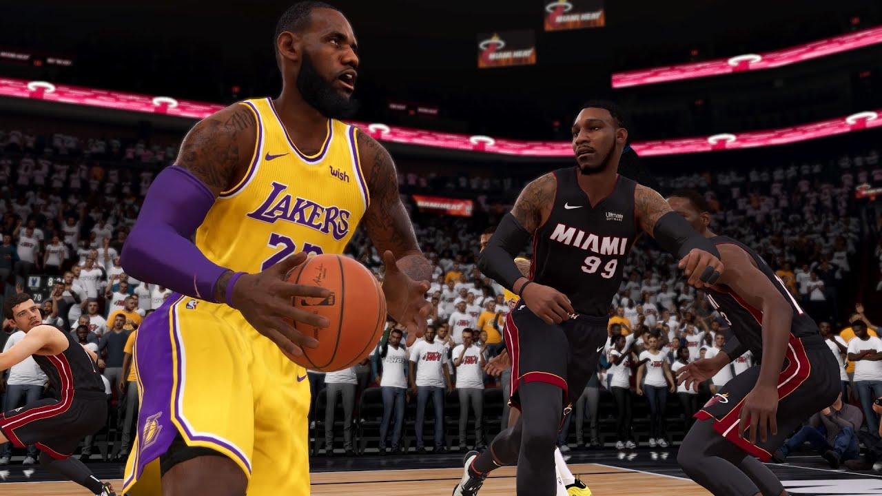 NBA Finals: Game 4   Los Angles Lakers Vs Miami Heat   NBA ...