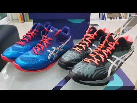 t�nis asics gel-netburner ballistic feminino zapatillas youtube