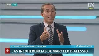 Hugo Alconada Mon: Las incoherencias de Marcelo D'Alessio - LN+ PM