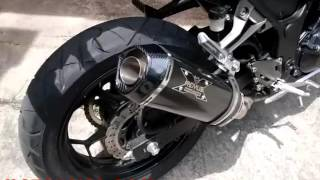 Kawasaki Z250 Suara Knalpot Racing Remus Hexacone Carbon Slip On Super Ngebass