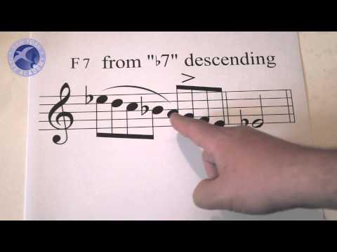 Jazz Lesson: Bebop Line Building - Part 2 - Octave Displacements (New York Jazz Academy)