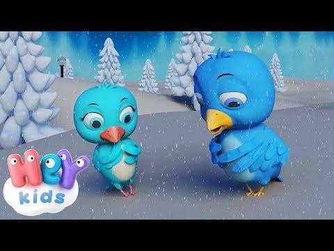 Mini Mini Bir Kuş Donmuştu - Bebek Şarkıları - HeyKids