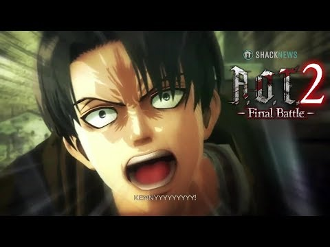 Attack on Titan 2 - Final Battle | Levi meets Kenny (Cutscene)