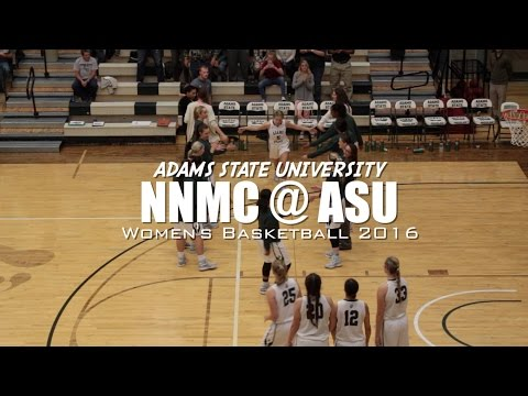 Adams State Women's Basketball Highlights (Northern New Mexico College) 2016