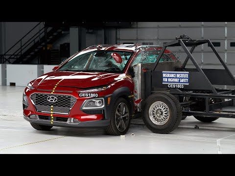 2018 Hyundai Kona Side IIHS Crash Test