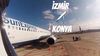 SunExpress: XQ 9046 Izmir Konya Uçuşu | TC-SEU Boeing 737-8HC(WL)