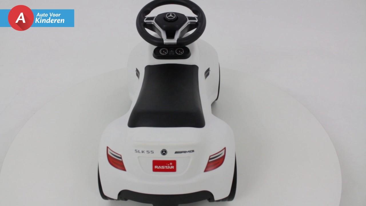 Auto Voor Kinderen Mercedes Loopauto Wit Youtube