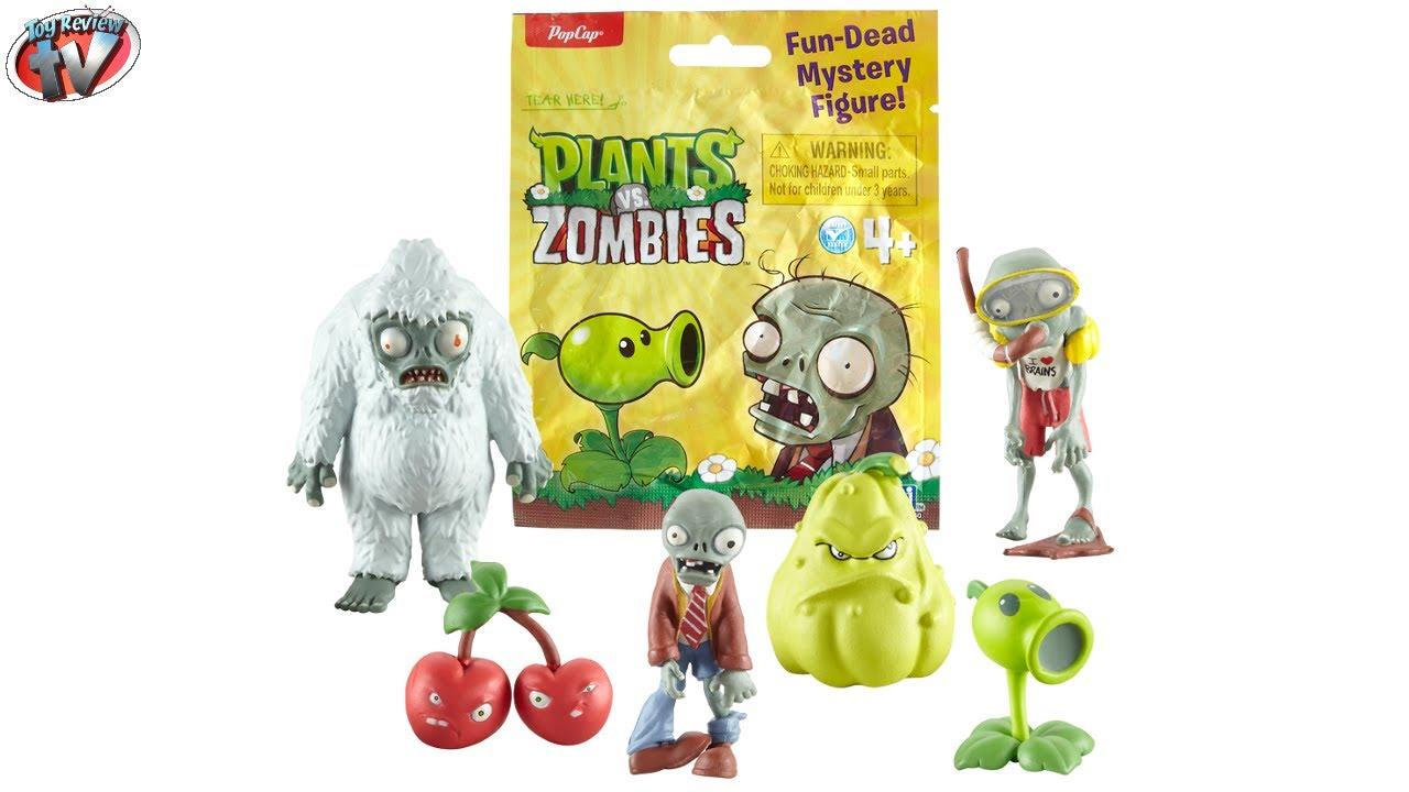 Plants Vs Zombies Fun Dead Mystery Figure Blind Bags Toy