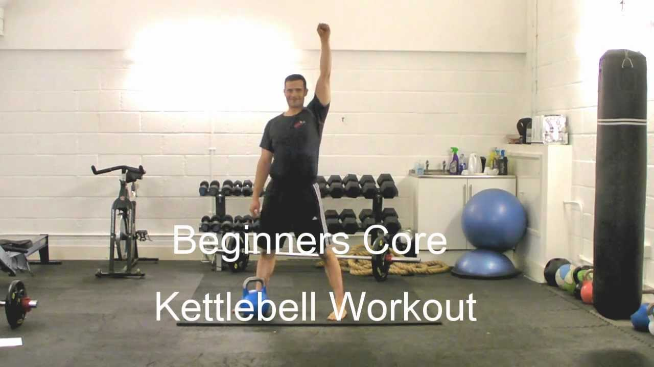 Kettlebell Training London Beginners Core Workout With Jamie Lloyd