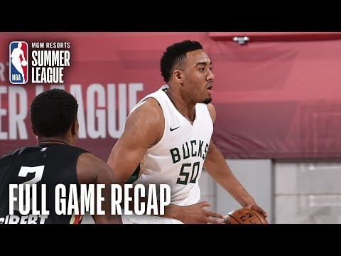 Bucks - Bucks beat Hawks in Summer League 89-83 on Saturday