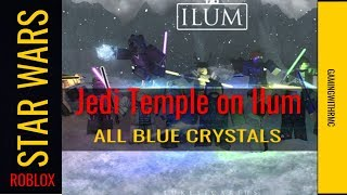 Roblox Star Wars Jedi Temple On Ilum All Blue Crystals