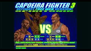 Capoeira Fighter 3 - Saturno Arcade Mode