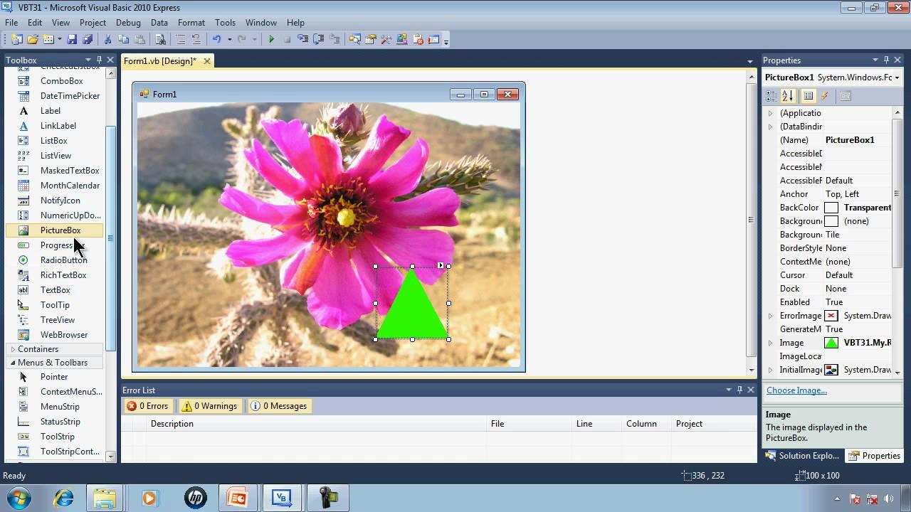 Visual Basic Express Tutorial 31