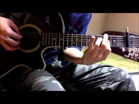 Guilty Crown OST - Release My Soul Guitar Cover (solo)