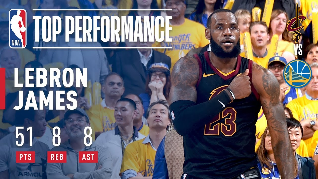 12f31ab826f LeBron James  Epic 51 Point Performance