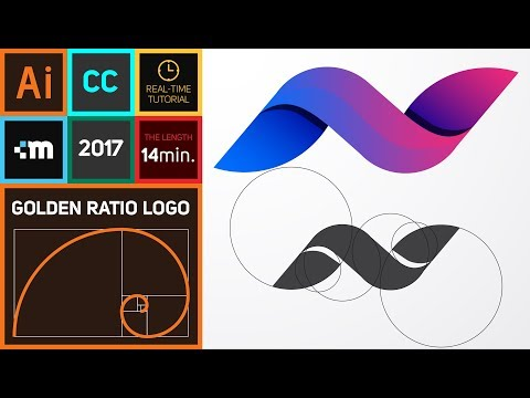 How to create Golden Ratio Logo Design in Adobe Illustrator CC | HD | N thumbnail