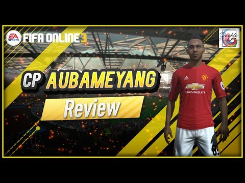 CP Pierre-Emerick Aubameyang Review - Is He Worth It? - FIFA ONLINE 3 (ENGLISH)