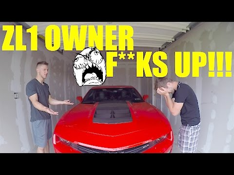 Thumbnail: CAMARO ZL1 vs McLAREN 570S!!! ZL1 GETS PULLED OVER!!