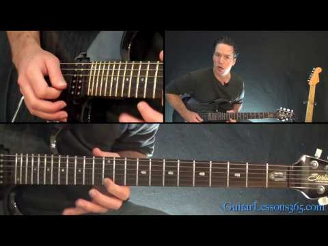 Metallica - Battery Guitar Lesson (Part 3)