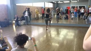 7 Krasnodar salsa festival. Annelys Perez. Afro