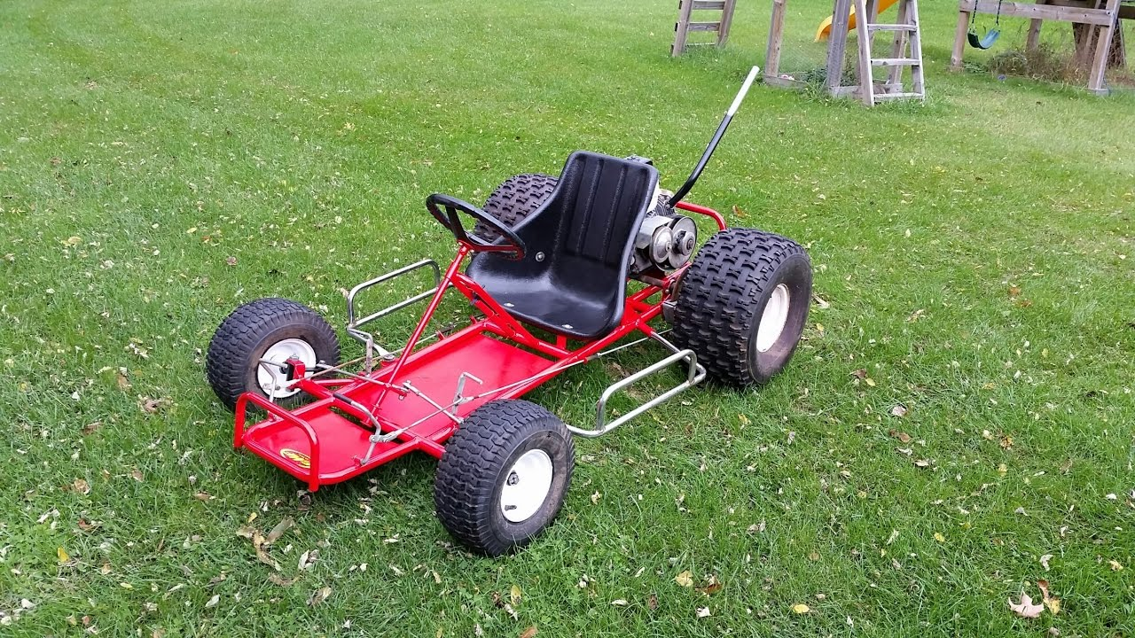 $50 craigslist go kart find coming along  Now has a straight pipe  Father  and Son team