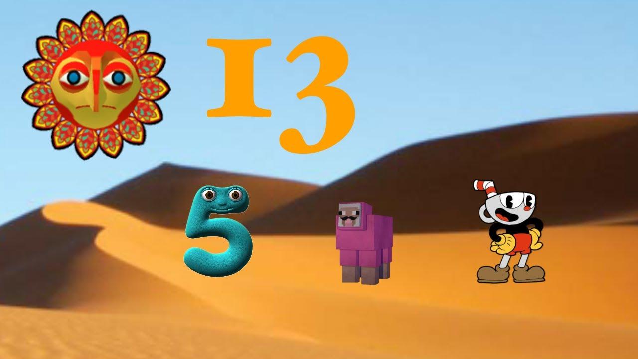 1452 Elimination 13 - Saharan Episode