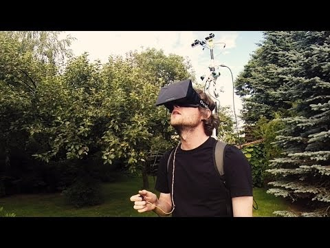 Developers use Oculus Rift and GoPro cams to let you view real life in third-person