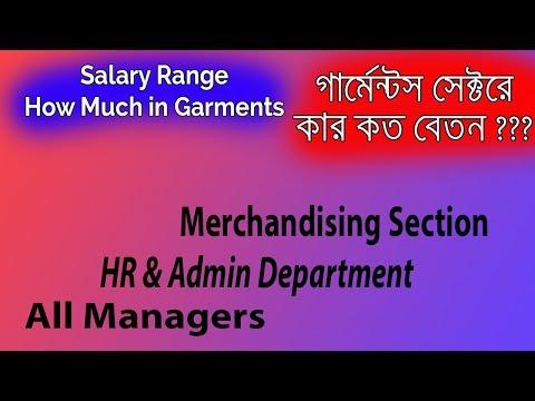 Salary || Average Salary of Garments || Episode 24