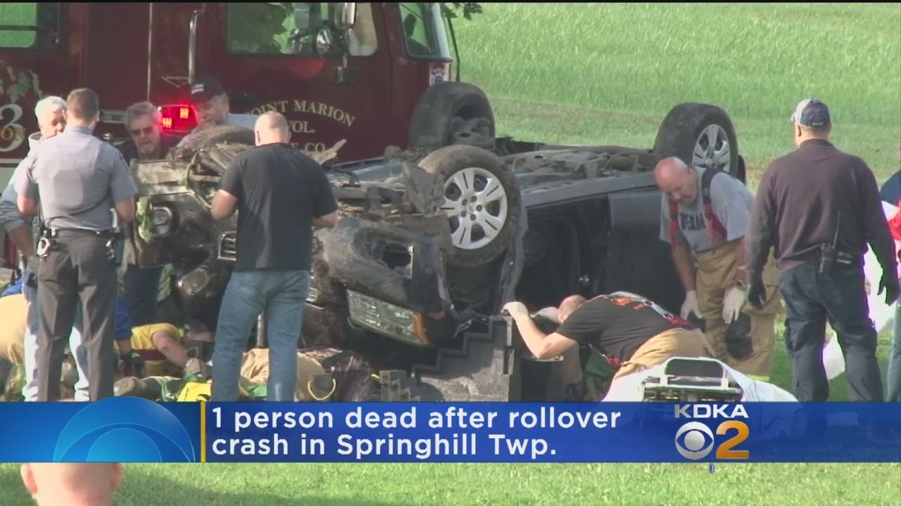 Rollover Accident In Fayette County Turns Fatal