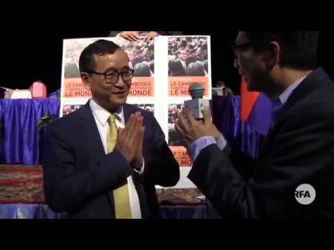 RFA - Interview With Mr. Sam Rainsy Over Missions in Abroad