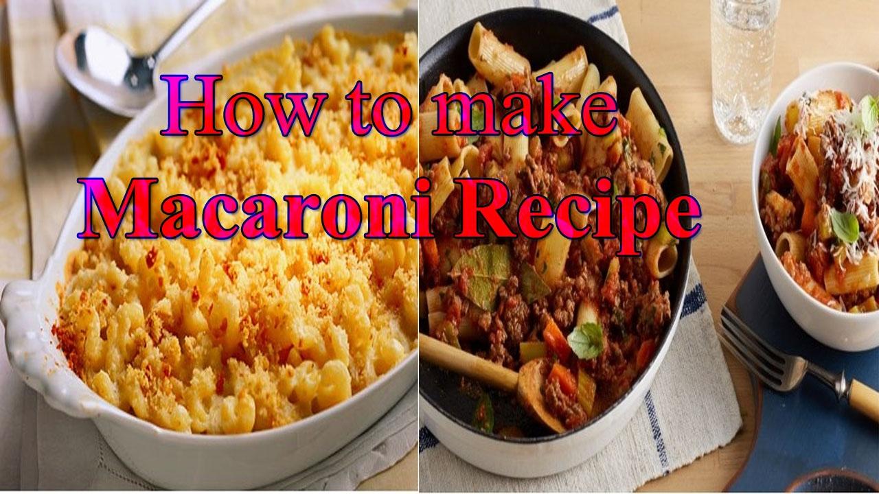 How To Make Macaroni 5 Minutes Macaroni Recip Chicken Macaroni Easy Recipe Kids Lunch Box