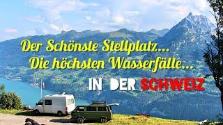 Schönster Wohnmobil Stellplatz in der Schweiz #Vanlife