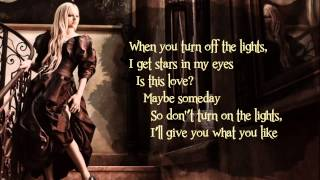 Avril Lavigne - Give You What You Like (Lyric On Screen) HQ